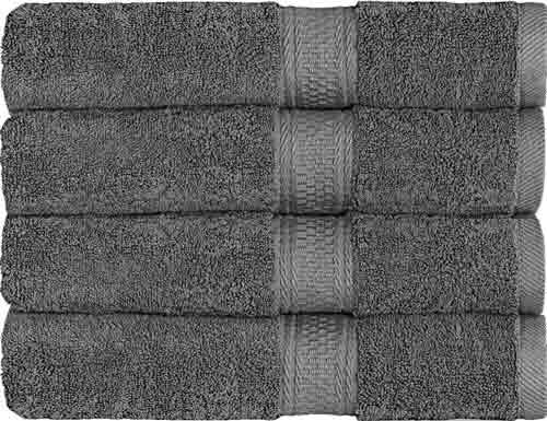 3. Utopia Towels 700 GSM Premium Towels Set 4 Pack