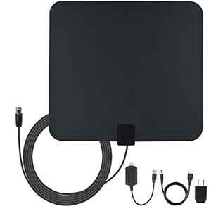 8. Amberonics Indoor Digital TV Antenna