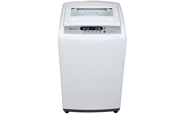 3. Magic Chef MCSTCW16W3 1.6 cu. ft. Topload Compact Washer, White
