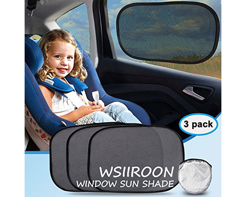 8. WSIIROON Car Sun guards make the traveling comfortable and enjoyable