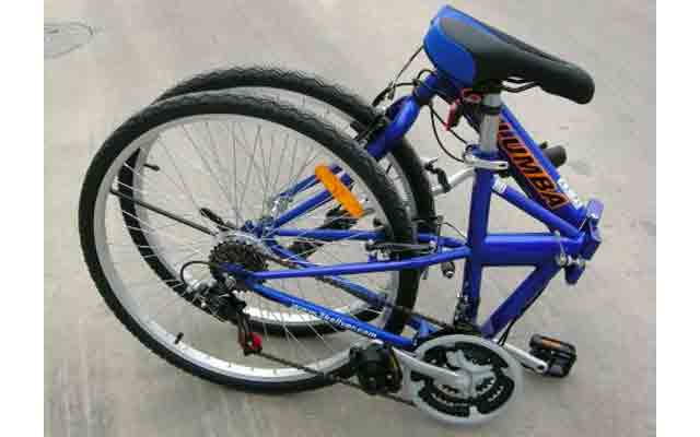 10. Columba folding bike.