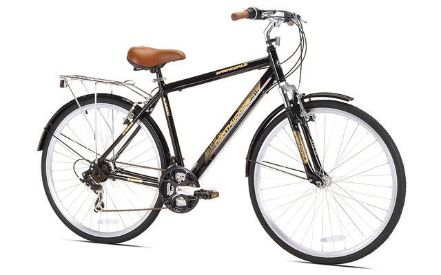 7. Northwoods Springdale men's 21 speed hybrid bicycle 700c.