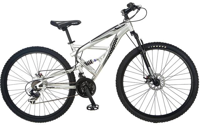 5. Mongoose impasse dual full suspension bicycle.