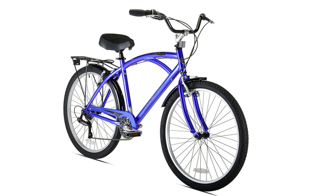 10. Kent bay breeze 7-speed men's cruiser bicycle.