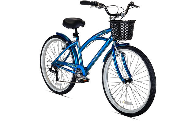 8. Kent bay breeze 7 speed women's cruiser bicycle.
