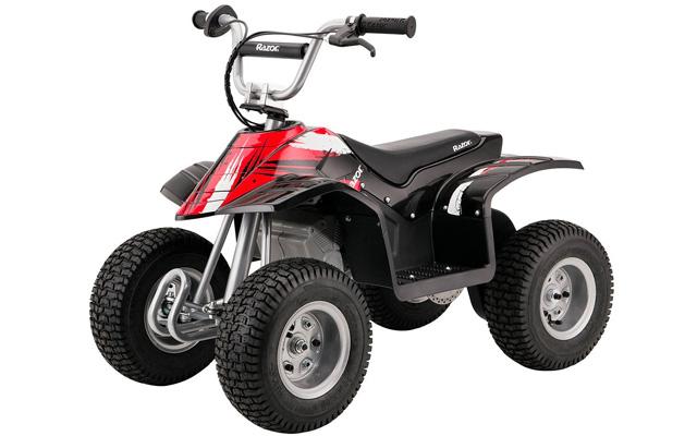 2. Razor dirt quad black.
