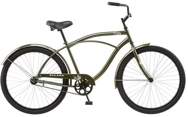 4. Kulana men's cruiser bike.