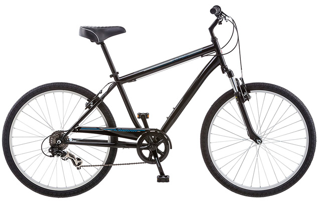 1. Schwinn men's suburban bike.