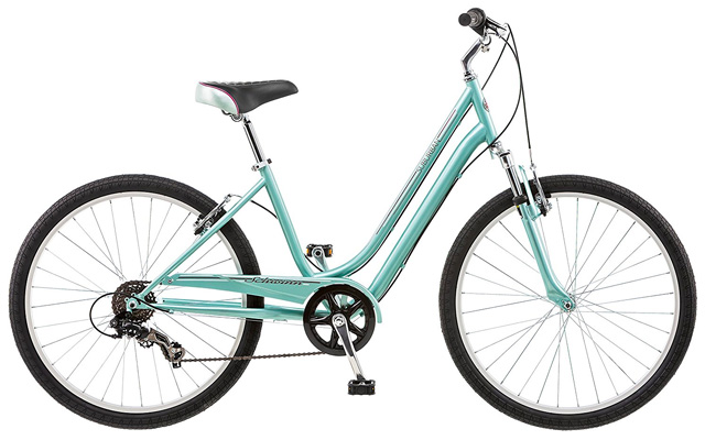 5. Schwinn women's suburban bike.