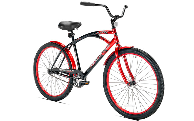 2. Kent rockvale men's cruiser bike.
