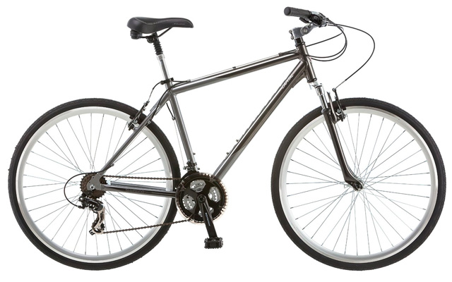 5. Schwinn capital 700c men's hybrid bicycle.