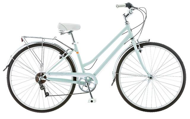 1. Schwinn women wayfare hybrid bike.