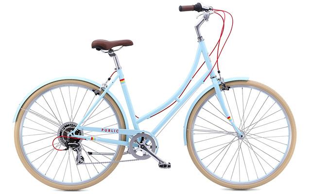 4. PUBLIC Bikes women's city bike.