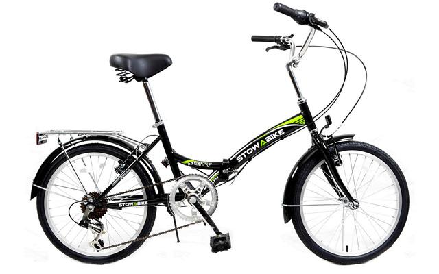 """4. Stowabike 20"""" folding city V2 compact foldable bike."""