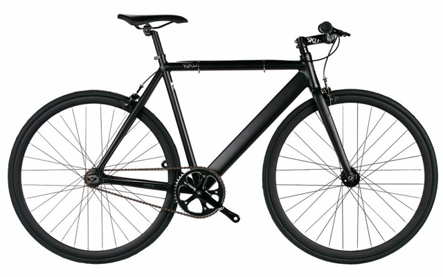 2. 6KU aluminum fixed single speed fixed gear urban track bike.