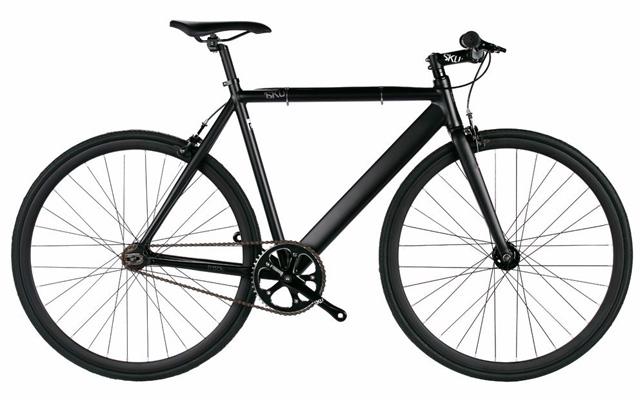 2. 6KU aluminum fixed single speed fixed gear urban track bike.