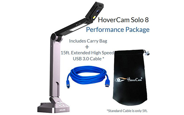 2. HoverCam solo8-Hc-USB document camera.