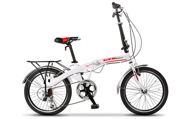 "7. GTM 20"" folding bike."