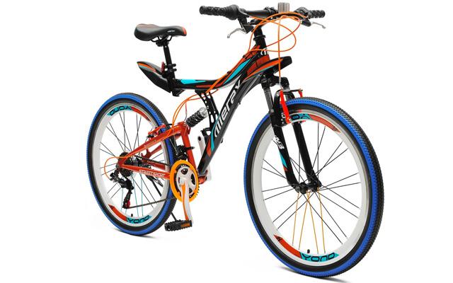 """6. Merax yond 26"""" dual suspension 21 speed mountain bike."""