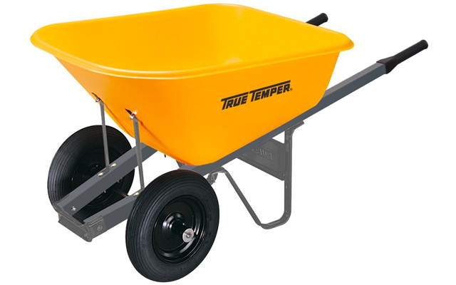 4. The AMES companies inch true temper foot wheelbarrow.
