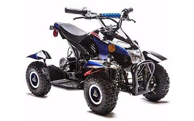 10. Rosso Motors kids electric AATV 4 wheeler quad.