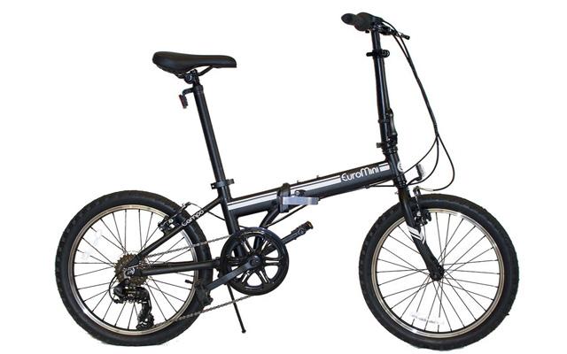 8. Euromini campo folding bike.