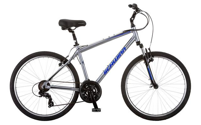 6. Schwinn suburban deluxe men's comfort bike.