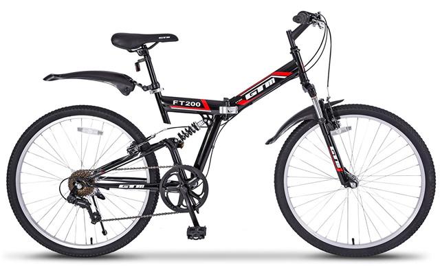 "3. GTM 26"" 7 speed folding mountain bike."