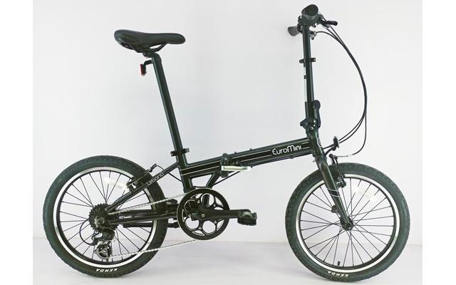 9. euromini Urbano folding bike.