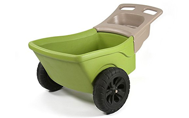 6. Simplay 3 easy haul wheelbarrow.