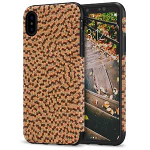 7. TENDLIN iPhone 8 Case Cork Material