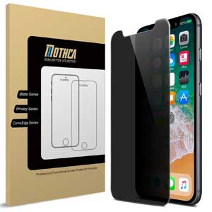7. Mothca iPhone 8 Screen Protector Privacy