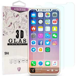2. iPhone 8 Screen Protector, K-moze