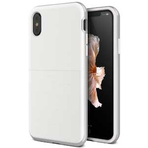 3. iPhone X Case, (Gardien S - White Silver)