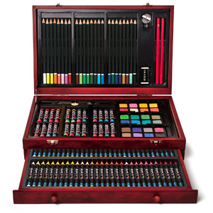 2. Art 101 142-Piece Wood Art Set