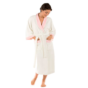 6. Texere Women's Terry Cloth Bathrobe