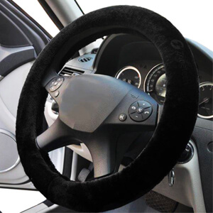 7. Zone Tech Steering Wheel Cover