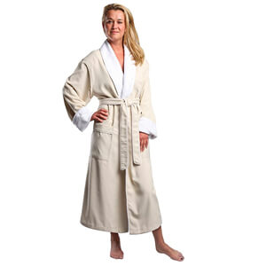 5. Monarch/Cypress Unisex Plush Lined Microfiber Robe