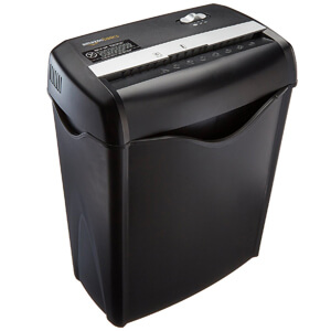 2. AmazonBasics Paper and Credit Card Shredder