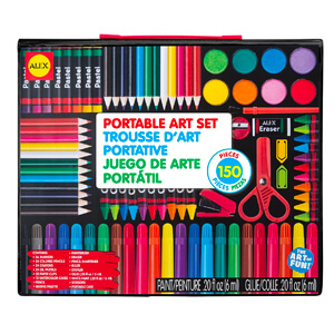 10. ALEX Toys Artist Studio Portable Art Set