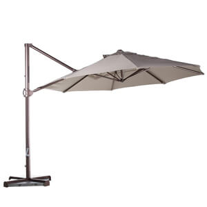2. Abba Patio Offset Cantilever Umbrella Outdoor Patio