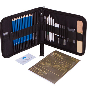 5. Bellofy33-piece Professional Art Kit