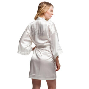 10. ExpressBuyNow Women's Bride and Bridesmaids Robes
