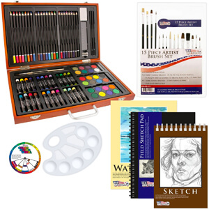 6. US Art Supply 82 Piece Deluxe Art Creativity Set