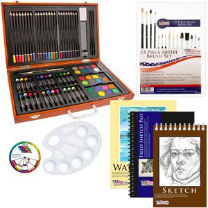 6. US Art Supply 82 Piece Deluxe Art Creativity Set