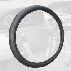 3. Motor Trend GripDrive Steering Wheel Cover