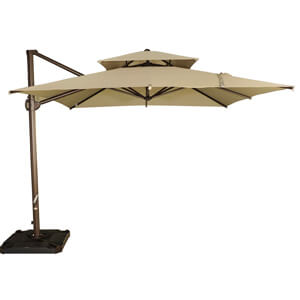6. Abba Patio Offset Cantilever Umbrella