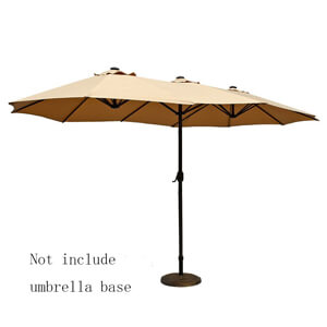 3. Le Papillon Outdoor Umbrella Double-Sided