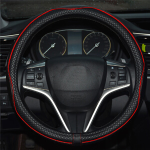 9. Rueesh Microfiber Steering Wheel Cover