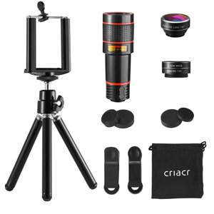 2. Criacr Phone Camera Lens